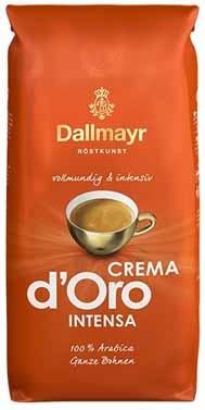 1kg Dallmayr Crema d'Oro Intensa koffiebonen